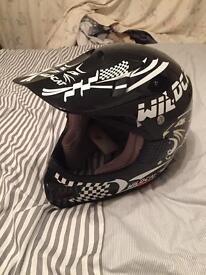 Motox helmet. Wildcat. Medium.