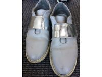 Used shoes ladies size 4 sneakers
