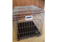 Savic residence dog cage