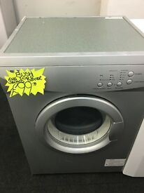 BUSH 6KG VENTED TUMBLE DRYER IN SILIVER
