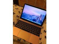 Rose Gold MacBook 2017