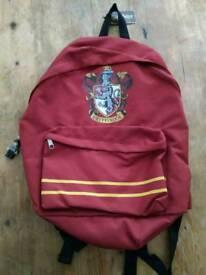 BNWT Harry Potter Gryffindor Backpack