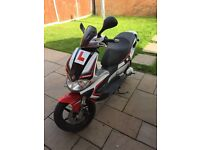 Very fast Gilera runner sp 50 60mph
