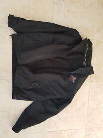 Guinness branded men's black casual jacket