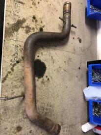 Mk6 golf exhaust straight pipe