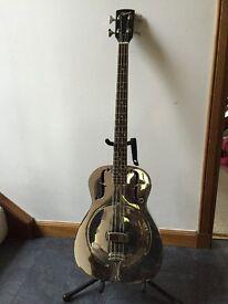 Ozark Steel Resonator Bass + case - Very Rare