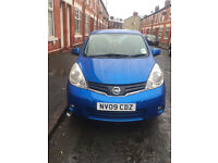 NISSAN NOTE ACENTA 1 OWNER 2 KEYS FULL SERVICE HISTORY QUICK SALE