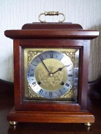 Woodford Mahogany mantle bracket clock - Franz Hermle