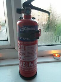 Chubb Dry Powder 1KG Fire Extinguisher