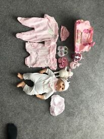 Baby Annabelle Doll & Accessories