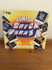 Junior Catch Phase by TVS, never been used.