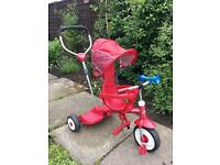 Radio Flyer ride and stand 4 in 1 trike