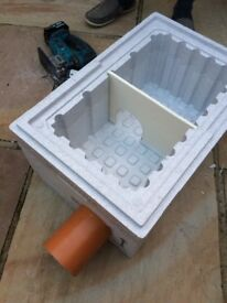 Polystyrene boxes all sizes for hedgehog winter homes