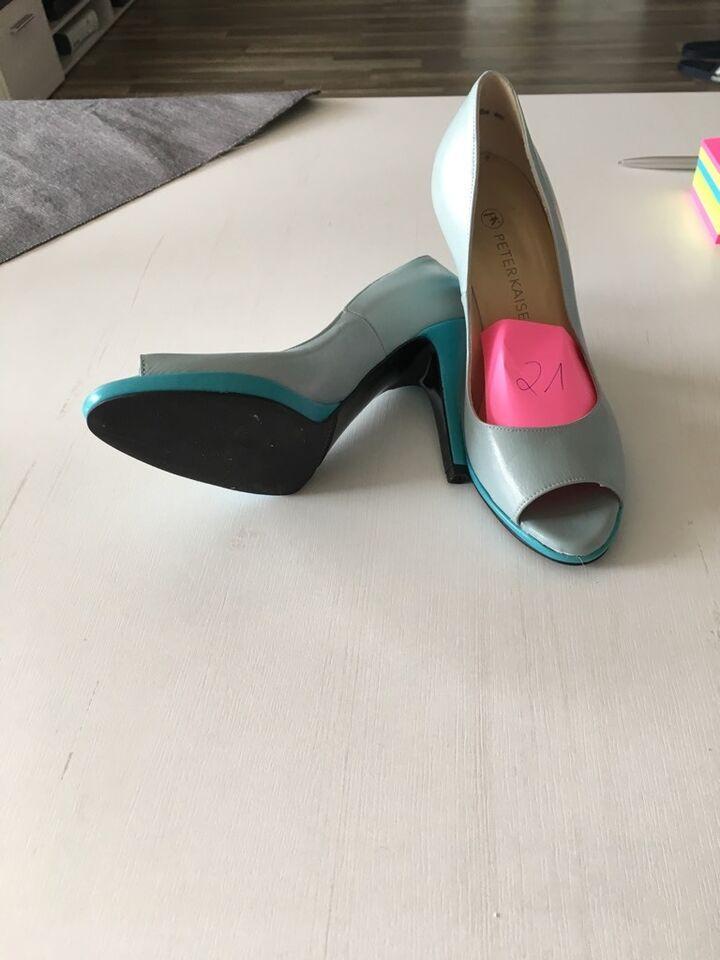 Damen Schuhe Pumps 37 türkis neu