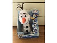 Olaf toy watch and wallet