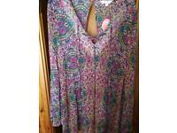 Brand new beach cover up Boho style