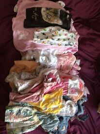 Huge bundle of girls clothes age 3-6 Months