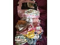 Huge bundle of girls clothes age 3-6 Months