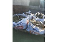Harcore free for collection in Hednesford Cannock