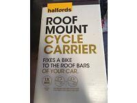 Halfords Roof Mount Bike Carrier