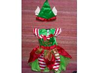 Girls Christmas Outfit age 1-2