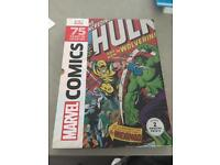 Marvel Comics 75 years of cover art, brand new, great condition