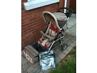 Pram and Pushchair for sale