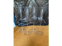 LSA Bar liquor glasses