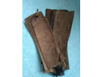 Suede Leather Chaps - 2 pairs - FREE