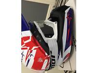 Airoh motorcross helmet roadlegal new.