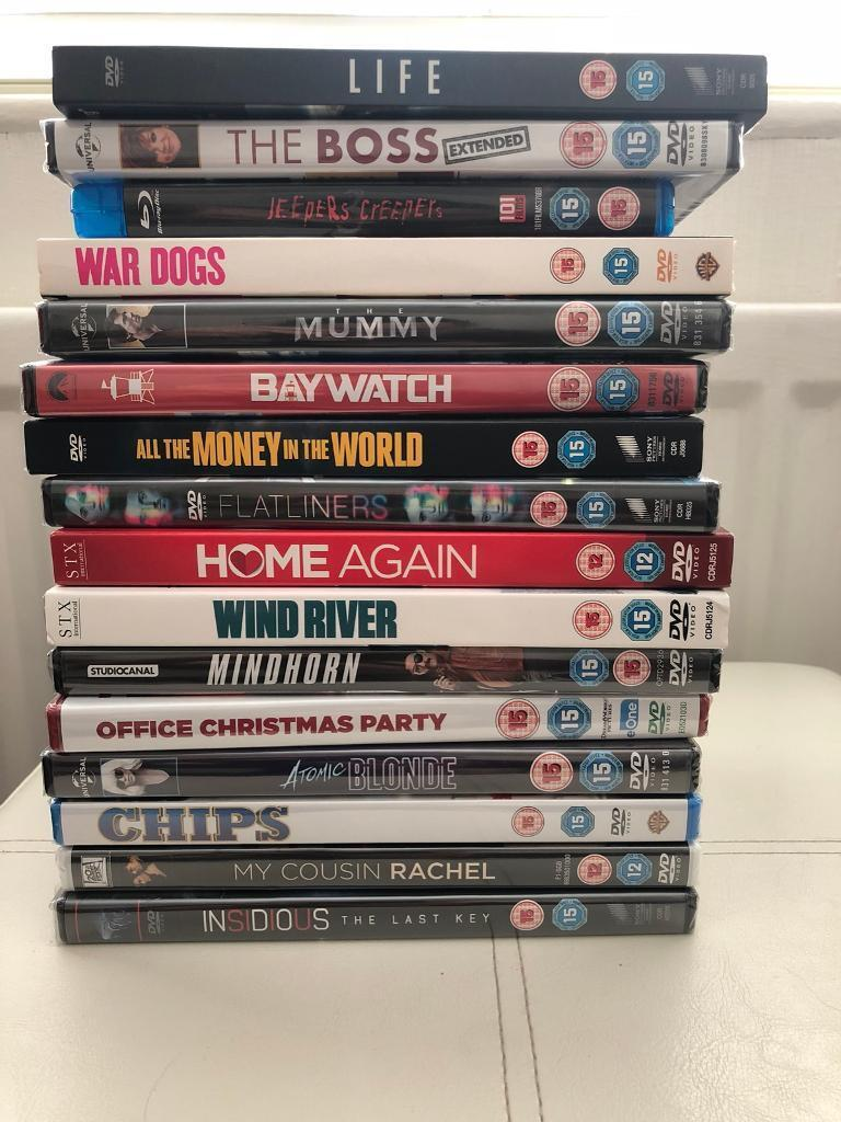 Bulk DVD sale - all sealed and recent releases | in Leamington Spa ...