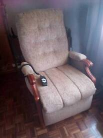Rise and recline electric chair Cintique make double motor