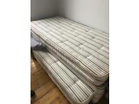 Free Single bed which transforms into double