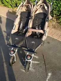 TFK Twinner Twist Duo double pram