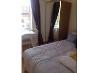 One double bed room to rent in a 2 bedroom flat!
