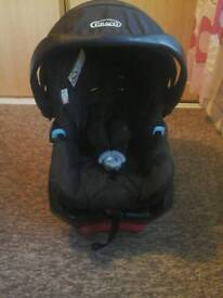 Graco Baby car seat and base.