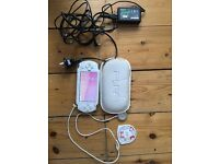 Sony PSP 1000 white, working, memory card and demo disc