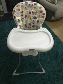 Gracco highchair in excellent condition