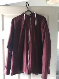 Burgundy Pop England Jacket