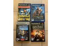 PlayStation 2 Games Harry Potter , Prince of Persia , Spartan