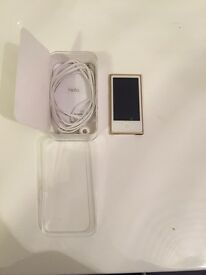 iPod nano 7th generation gold 16gb