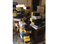 JOB LOT 100 pairs Work safety shoes and boots NEW BOXED