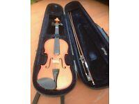Half Violin, Bow + Case