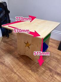 Great Little Trading Company Toddler/Kids Wooden Arts and Crafts Table