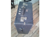 Vintage Shabby Chic 1940's TAYCALL WATAJOY WARDROBE SUITCASE or COFFEE TABLE