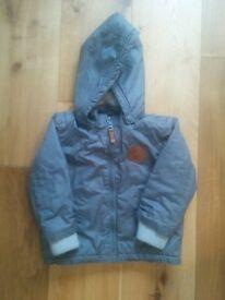 Excellent Condition Boy Girl Winter Jacket Grey Warm (18-24 months)
