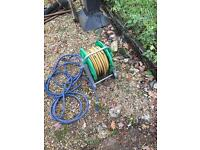 Hose pipe reel and hose