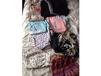 Ladies / Girls Size 8 Clothes Bundle. Jeans, Skirts, Tops, Pyjamas