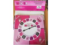 Hen party pack of 2 games. 1 spin the wheel game and 1 pack of drink me/what am i cards