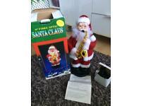 Fibre optic Santa Claus